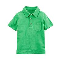 Toddler Boy Carter's Solid Polo