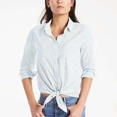 Women's Levi's Tie-Front Denim Shirt