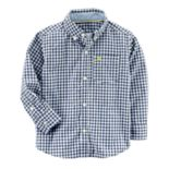 Toddler Boy Carter's Plaid Button-Down Shirt