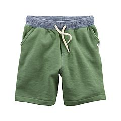 Toddler Boy Carter's Knit French Terry Pull-On Shorts