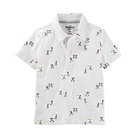 Toddler Boy OshKosh B'gosh® Printed Graphic Polo