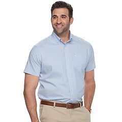 Big & Tall Dockers Classic-Fit Comfort Stretch No-Wrinkle Button-Down Shirt
