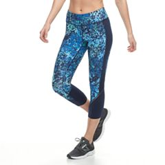 Women's Tek Gear® Performance Allover Graphic Capri Leggings