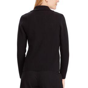 Women's Chaps Asymmetrical Sweater Jacket