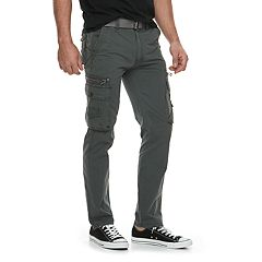 Men's X-RAY Belted Cargo Pants