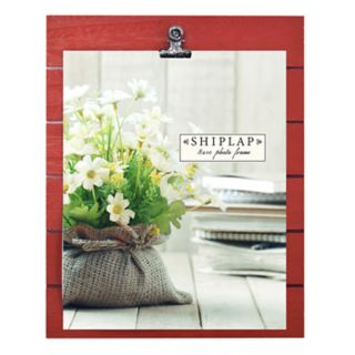 """New View Red Shiplap 8"""" x 10"""" Frame"""
