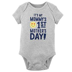 Baby Boy Carter's 'It's My Mommy's 1st Mother's Day' Graphic Bodysuit