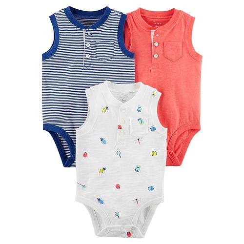 8d1b83d7092f Baby Boy Carter s 3-pack Henley Bodysuits