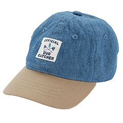 Baby Boy Carter's 'Official Bug Catcher' Chambray Baseball Hat