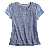 Girls 7-16 & Plus Size SO® Basic Varsity Tee
