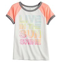 Girls 7-16 & Plus Size SO® Raglan Sleeve Tee