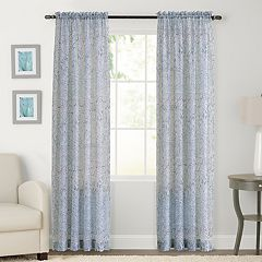 SONOMA Goods for Life™ Global Crushed Voile Window Curtain