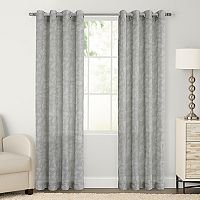 SONOMA Goods for Life™ Ayden Sayer Leaf Linen Blend Window Curtain
