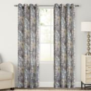 SONOMA Goods for Life™ Ayden Marissa Floral Linen Blend Window Curtain