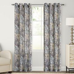 SONOMA Goods for Life™ 1-Panel Ayden Marissa Floral Linen Blend Window Curtain