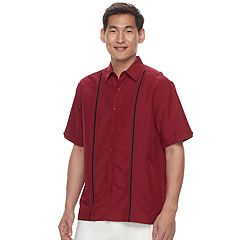 Big & Tall Havanera Classic-Fit Button-Down Shirt