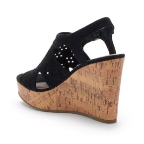 SO® Grouper Women's Wedge ... Heels