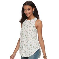 Juniors' Cactus Printed Tank