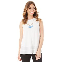 Women's Apt. 9® Ribbed Swing Tank