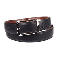 Men's Croft & Barrow® Stitched Reversible Belt