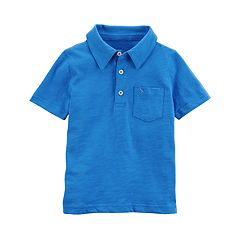 Boys 4-8 Carter's Solid Polo Shirt
