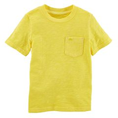 Boys 4-8 Carter's Solid Pocket Tee