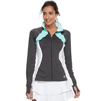 Women's FILA SPORT® Ruched Thumb Hole Jacket