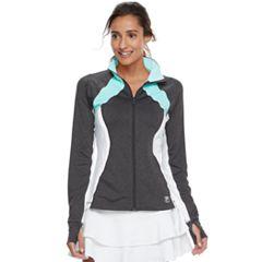 Women's FILA SPORT® Ruched Thumb Hole Jacket