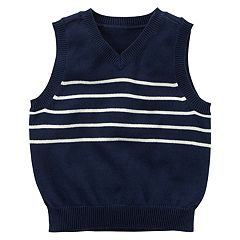 Boys 4-8 Carter's Navy Sweater Vest