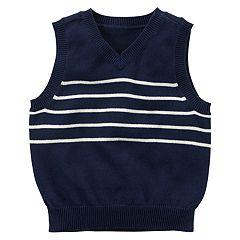 Boys 4-8 Carter's Navy Sweater Vest