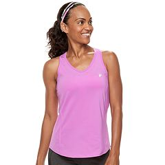 Women's FILA SPORT® UPF Racerback Workout Tank