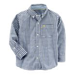 Boys 4-8 Carter's Plaid Button-Down Shirt