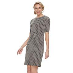 Women's Dana Buchman Faux-Wrap Dress