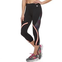 Women's FILA SPORT® Geometric Capri Leggings