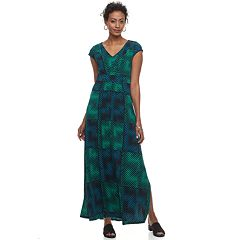 Women's Dana Buchman Shirred Maxi Dress