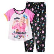 "Girls 6-12 JoJo Siwa ""Swagger"" Top & Bottoms Pajama Set"