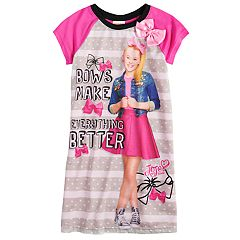 Girls 4-10 JoJo Siwa 'Bows Make Everything Better' Knee-Length Dorm Nightgown