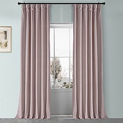 EFF 1-Panel Heritage Plush Velvet Curtain