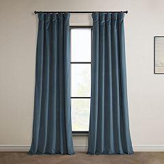 EFF 1-Panel Heritage Plush Velvet Curtain