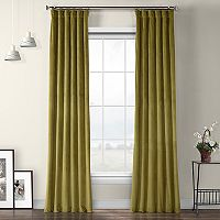EFF Heritage Plush Velvet Curtain