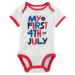 Baby Carter's 'My First 4th of July' Slogan Bodysuit