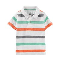 Boys 4-12 OshKosh B'gosh® Patterned Polo Shirt