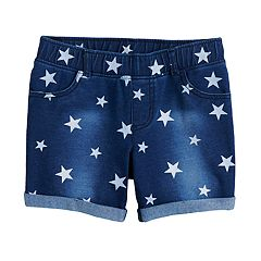 Girls 4-10 Jumping Beans® Midi Americana Jegging Shorts