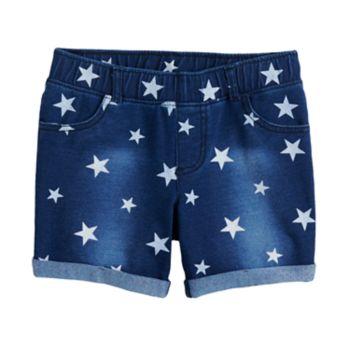 Girls 4-10 Jumping Beans® Midi Americana Jegging Shorts