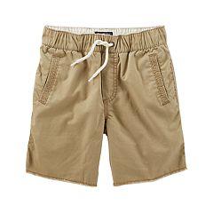 Boys 4-12 OshKosh B'gosh® Solid Pull-On Shorts