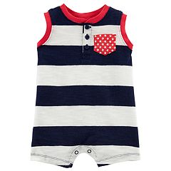 Baby Boy Carter's Stars & Striped Romper