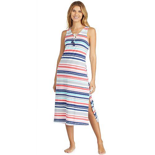 Women's Cuddl Duds Weekend Getaway Pajama Maxi Dress