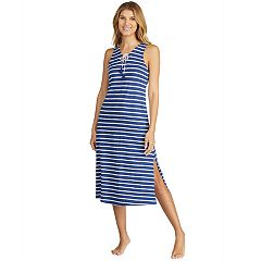 Women's Cuddl Duds Weekend Getaway Pajama Maxi Dress