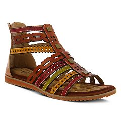 L'Artiste By Spring Step Anjula Women's Ghillie Sandals