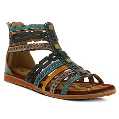 L'Artiste By Spring Step Anjula Women's Ghillie Sandals